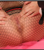 Tight Pussy Showing Through Hot Fishnet - Picture 11