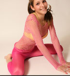 Cute Babe In Pink Pantyhose - Picture 6