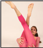 Cute Babe In Pink Pantyhose - Picture 10